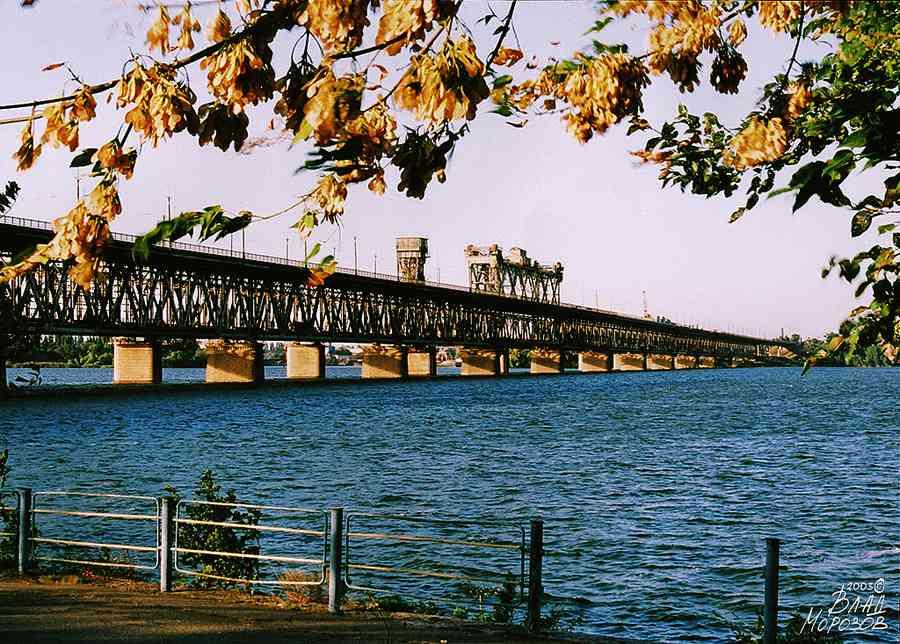 Амурский он же старый мост через